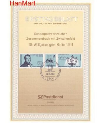 Niemcy 1991(26) Mi  Pierwszy dzień wydania