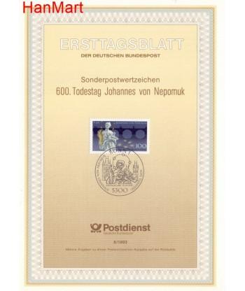 Niemcy 1993(8) Mi  Pierwszy dzień wydania