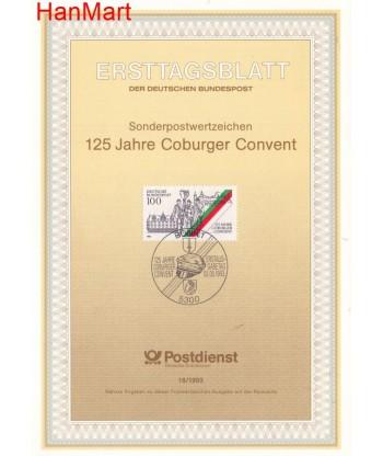 Niemcy 1993(18) Mi  Pierwszy dzień wydania