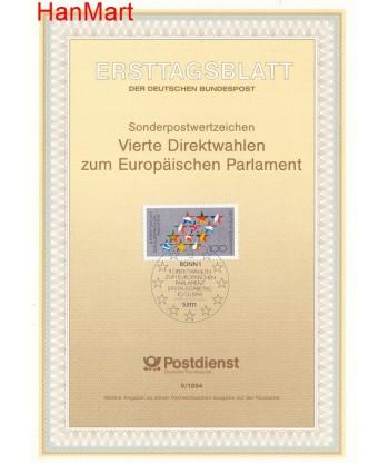 Niemcy 1994(9) Mi  Pierwszy dzień wydania