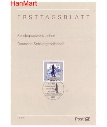 Niemcy 1995(15) Mi  Pierwszy dzień wydania