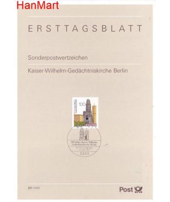Niemcy 1995(27) Mi  Pierwszy dzień wydania