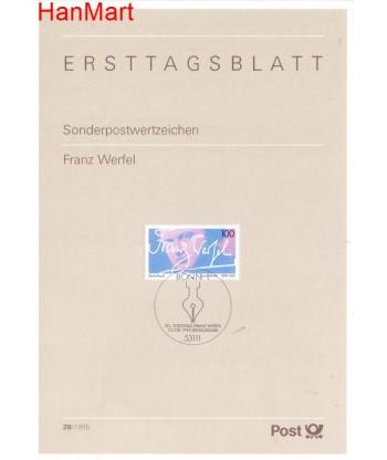 Niemcy 1995(28) Mi  Pierwszy dzień wydania