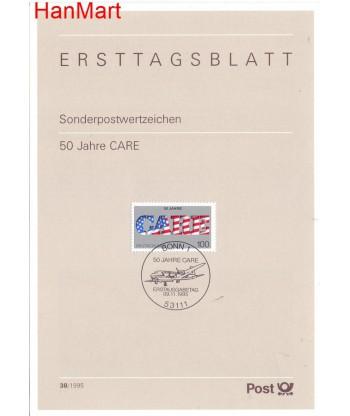 Niemcy 1995(38) Mi  Pierwszy dzień wydania