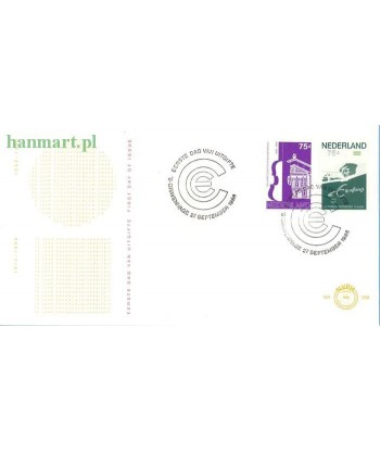 Holandia 1988 Mi 1351-1352 FDC