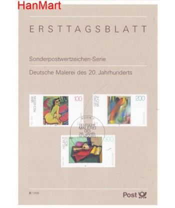 Niemcy 1996(6) Mi  Pierwszy dzień wydania