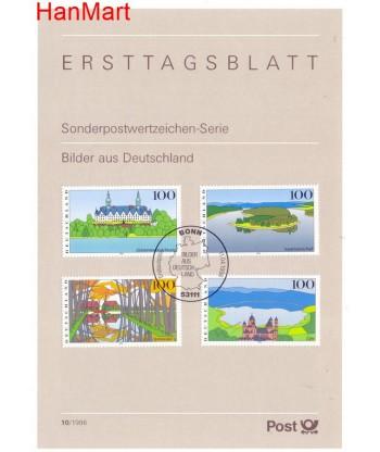 Niemcy 1996(10) Mi  Pierwszy dzień wydania
