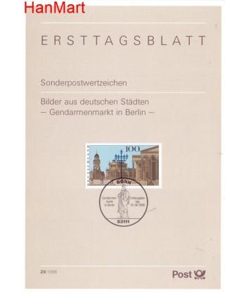 Niemcy 1996(29) Mi  Pierwszy dzień wydania