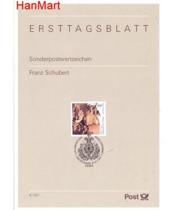 Niemcy 1997(1) Mi  Pierwszy dzień wydania