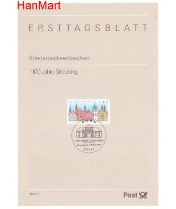 Niemcy 1997(10) Mi  Pierwszy dzień wydania