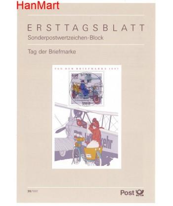 Niemcy 1997(35) Mi  Pierwszy dzień wydania