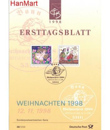 Niemcy 1998(38) Mi  Pierwszy dzień wydania
