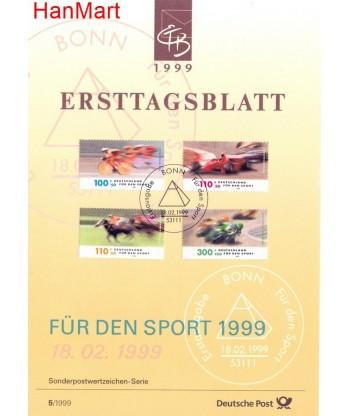 Niemcy 1999(5) Mi  Pierwszy dzień wydania