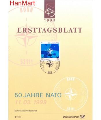 Niemcy 1999(9) Mi  Pierwszy dzień wydania