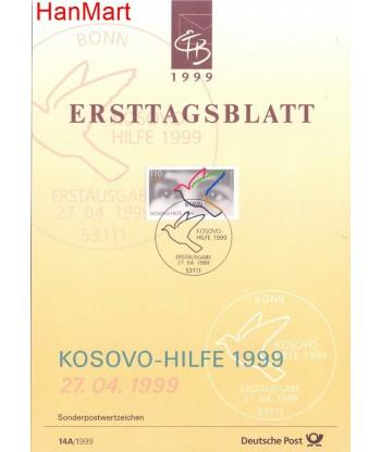 Niemcy 1999(14A) Mi  Pierwszy dzień wydania
