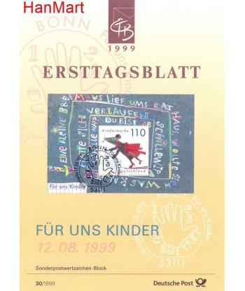 Niemcy 1999(30) Mi  Pierwszy dzień wydania