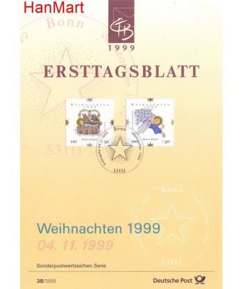 Niemcy 1999(38) Mi  Pierwszy dzień wydania