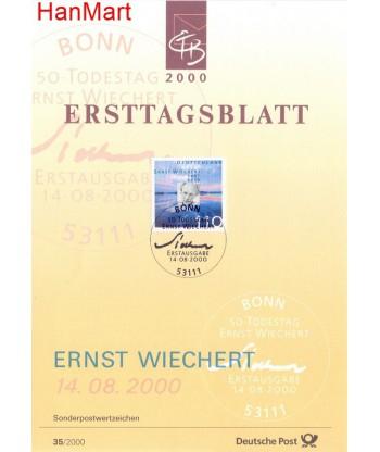 Niemcy 2000(35) Mi  Pierwszy dzień wydania