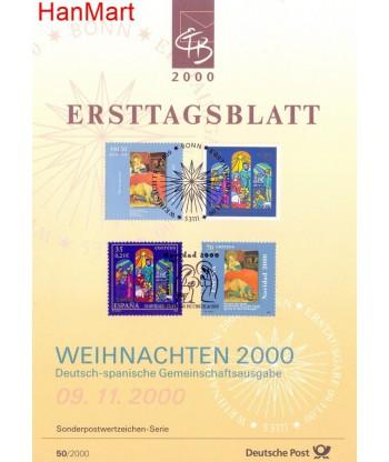 Niemcy 2000(50) Mi  Pierwszy dzień wydania