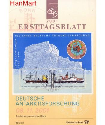 Niemcy 2001(49) Mi  Pierwszy dzień wydania