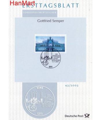 Niemcy 2003(43) Mi  Pierwszy dzień wydania