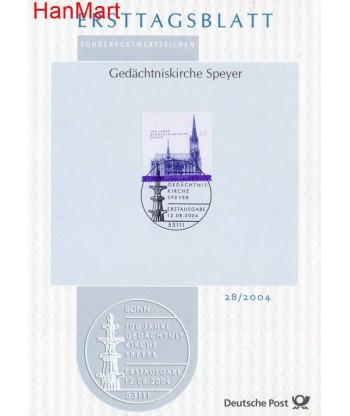 Niemcy 2004(28) Mi  Pierwszy dzień wydania