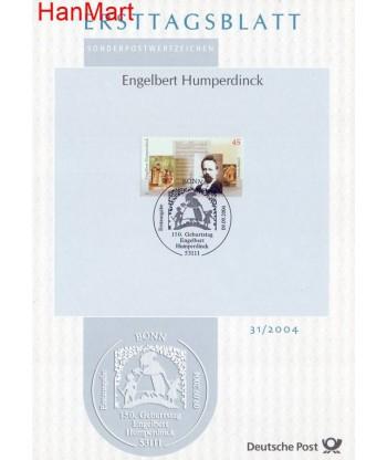 Niemcy 2004(31) Mi  Pierwszy dzień wydania