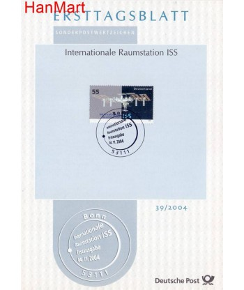 Niemcy 2004(39) Mi  Pierwszy dzień wydania