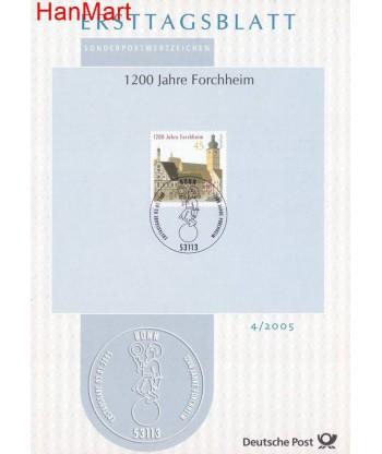 Niemcy 2005(4) Mi  Pierwszy dzień wydania