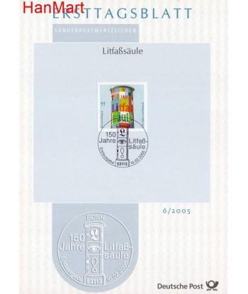 Niemcy 2005(6) Mi  Pierwszy dzień wydania