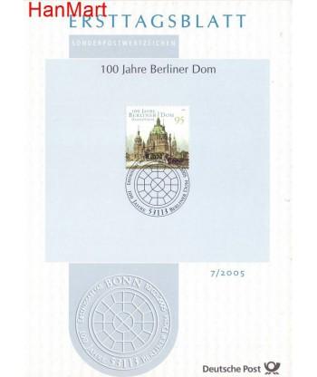 Niemcy 2005(7) Mi  Pierwszy dzień wydania