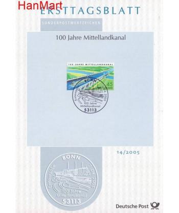 Niemcy 2005(14) Mi  Pierwszy dzień wydania