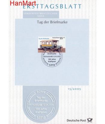 Niemcy 2005(15) Mi  Pierwszy dzień wydania