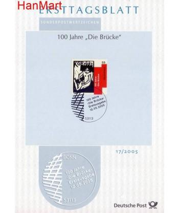 Niemcy 2005(17) Mi  Pierwszy dzień wydania