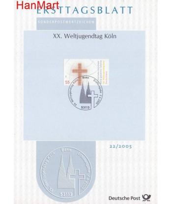 Niemcy 2005(21/21a) Mi  Pierwszy dzień wydania