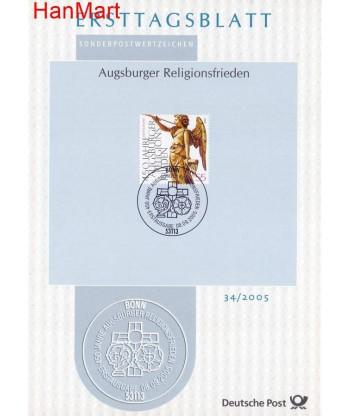 Niemcy 2005(34) Mi  Pierwszy dzień wydania