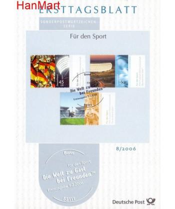 Niemcy 2006(8/8a) Mi  Pierwszy dzień wydania