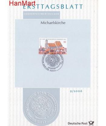 Niemcy 2006(9) Mi  Pierwszy dzień wydania