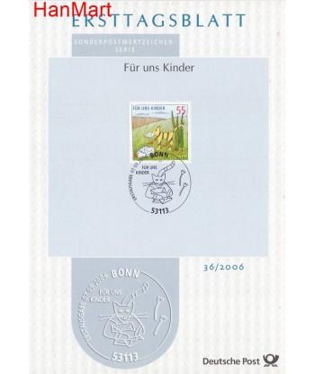 Niemcy 2006(36) Mi  Pierwszy dzień wydania