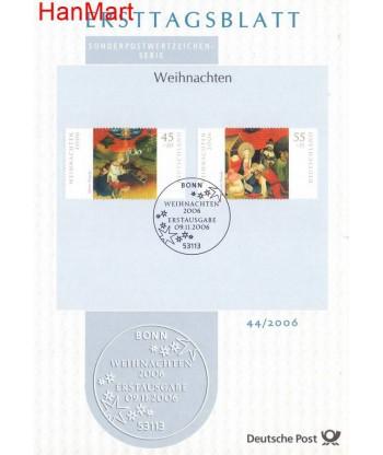 Niemcy 2006(44) Mi  Pierwszy dzień wydania