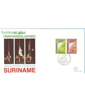 Surinam 1985 Mi bl 42 FDC