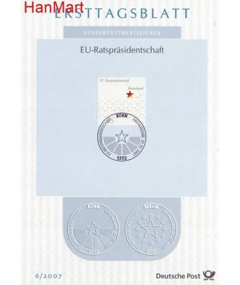 Niemcy 2007(6) Mi  Pierwszy dzień wydaniaa