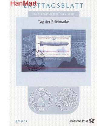 Niemcy 2007(9) Mi  Pierwszy dzień wydaniaa