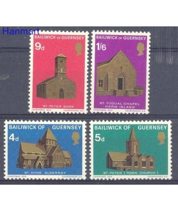 Guernsey 1970 Mi 35-38 Czyste **