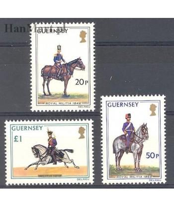 Guernsey 1975 Mi 118-120 Czyste **
