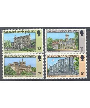Guernsey 1976 Mi 141-144 Czyste **