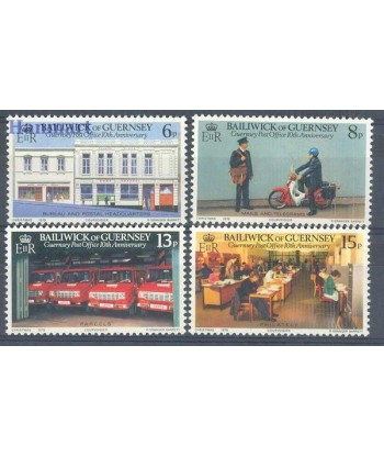 Guernsey 1979 Mi 195-198 Czyste **
