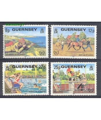 Guernsey 1981 Mi 237-240 Czyste **