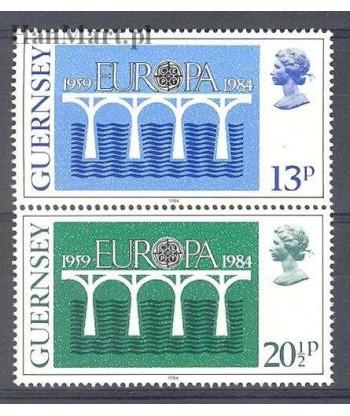 Guernsey 1984 Mi 286-287 Czyste **
