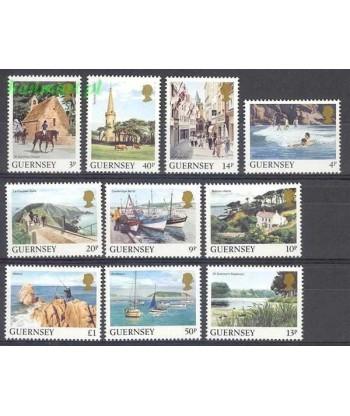 Guernsey 1984 Mi 288-297 Czyste **